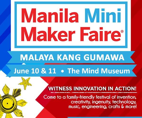 Manila Mini Maker Faire_Poster