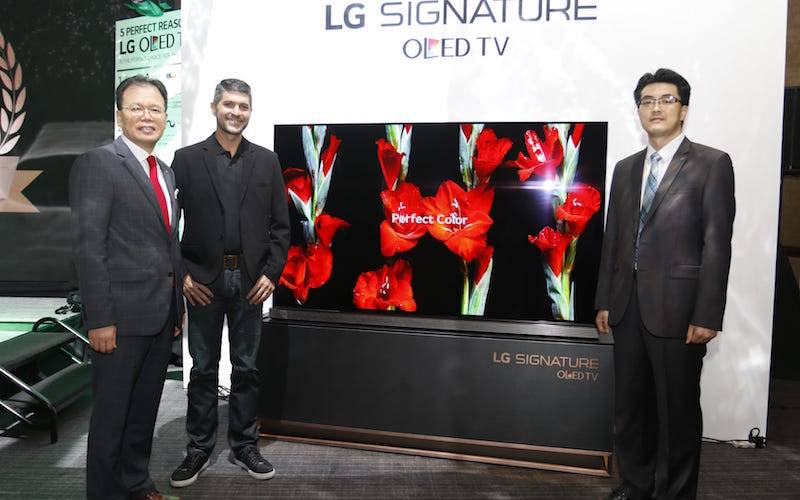 LG CELEBRATES 5 YEARS OF LG OLED TV EXCELLENCE WITH THE LAUNCH OF 77-INCH LG SIGNATURE OLED TV_photo