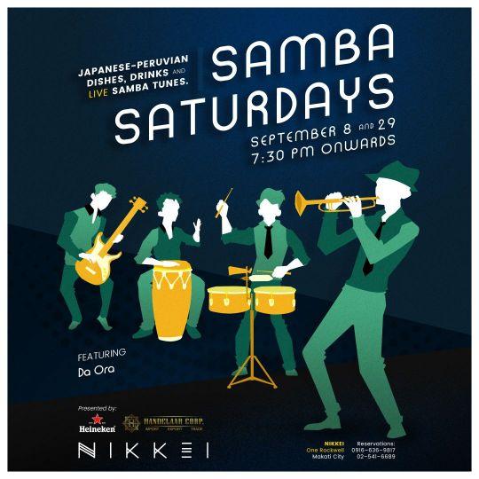 September Samba Saturdays At Nikkei One Rockwell Trend Hotspot