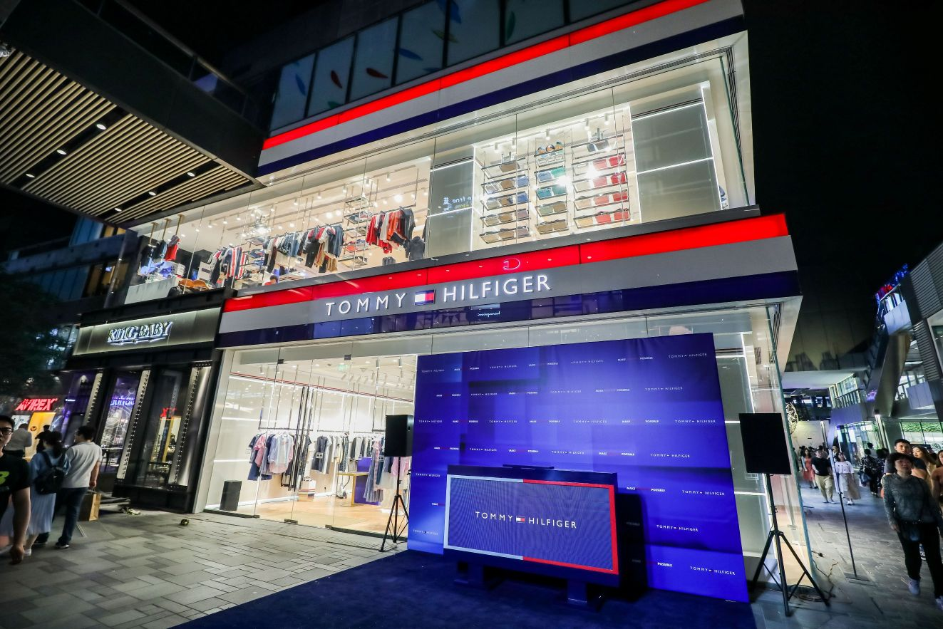 the latest 7b0a5 4313e Tommy Hilfiger Opens Its Store-of-The-Future in Beijing ...