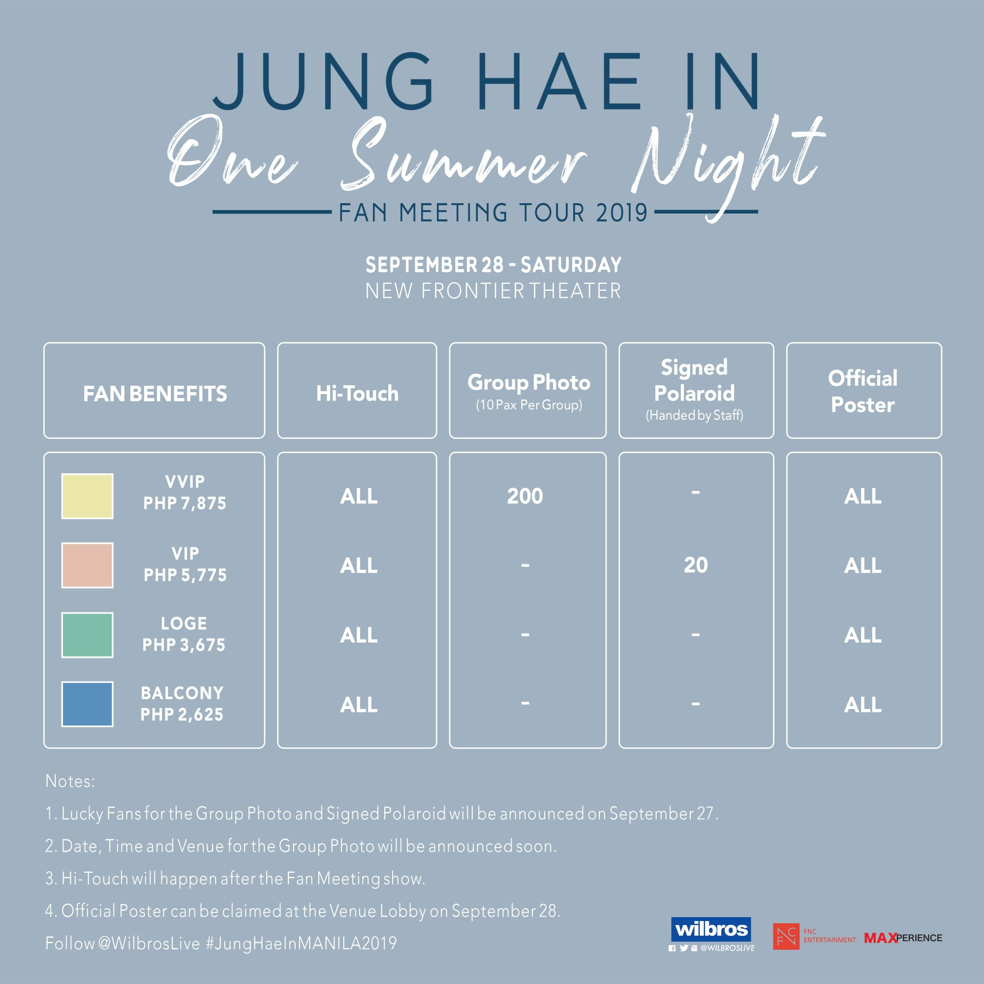 K-Drama Star Jung Hae Back in Manila in September – Trend
