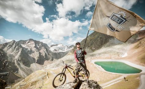 Bike Republic Sölden: Fahrräder machen den Wintersportort auch zur Sommer-Destination