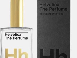 Helvetica als geurwater