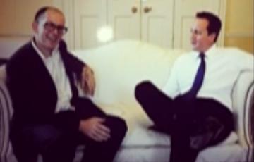 Op de thee bij David Cameron