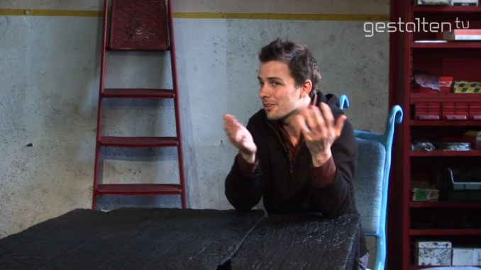 Maarten Baas @ Gestalten TV