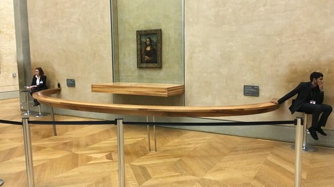 Het Louvre is leeg