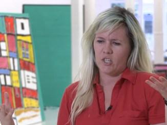 Kathy Grayson geïnterviewd