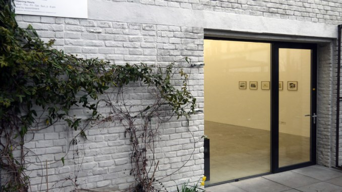 Ronald Noorman (Nl) in de Kristof De Clercq gallery te Gent (B)
