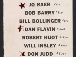 Paula Cooper prijslijst 1968