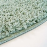 Runde Taepper Pastel Mint Trendcarpet Dk