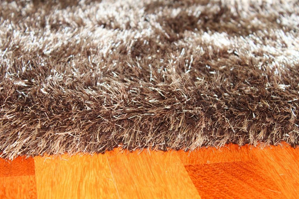 Hoogpolig vloerkleed  Soft Deluxe bruin