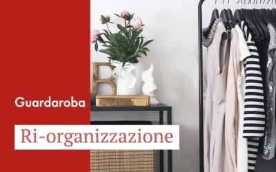 Ri-organizzazione del guardaroba