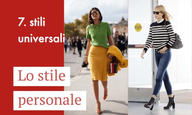 I 7 stili universali