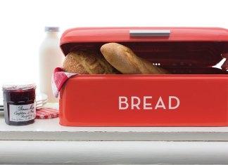 Chlebak czerwony do kuchni