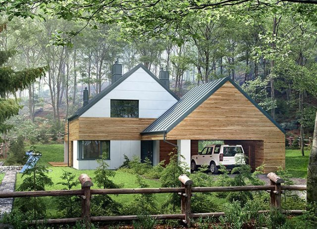 Projekt domu Arklow BBE1029
