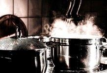 Garnki ze stali nierdzewnej do profesjonalnej kuchni