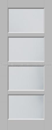 <h5>Trend 2513</h5><p>Paneeldeur uit te voeren met A1, A2, B1, B2 en C1 profilering.  Keuze uit beglazingssoorten, Blank glas, Satijn glas, Blank facet geslepen glas en Satijn facet geslepen glas.</p>