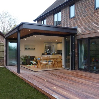 Inspirations For Beautiful House Extension 31
