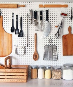 Smart Ways To Organize Your Home With Pegboards 15