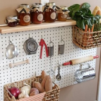 Smart Ways To Organize Your Home With Pegboards 17