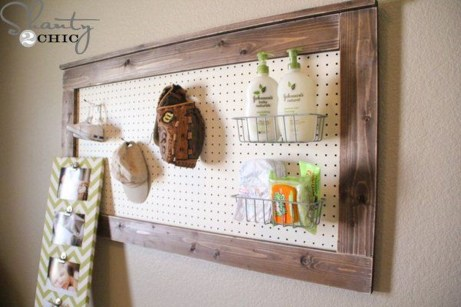 Smart Ways To Organize Your Home With Pegboards 35