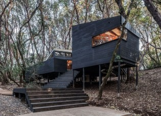 A Wooden House That's Simple On The Outside But Modern On The Inside 02