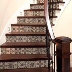 Beautiful Tiled Stairs Designs For Your House 42
