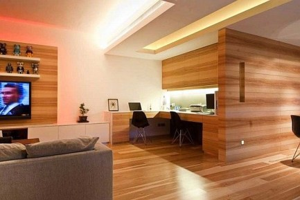 Charming And Minimalist Wooden House 18