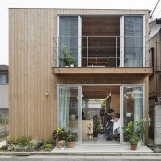 Charming And Minimalist Wooden House 30