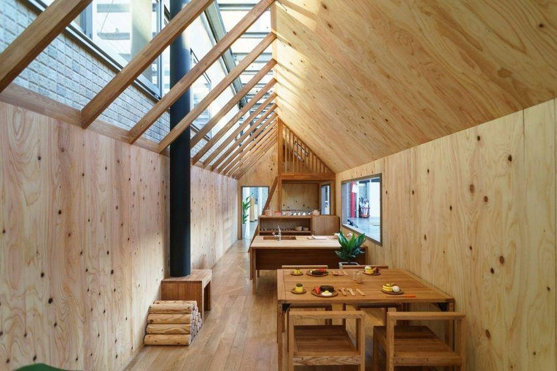 Functional Japanese House For Small Family 52