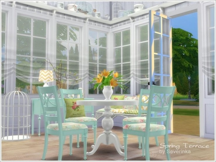 Great Ideas For House Terrace Dining Room 07