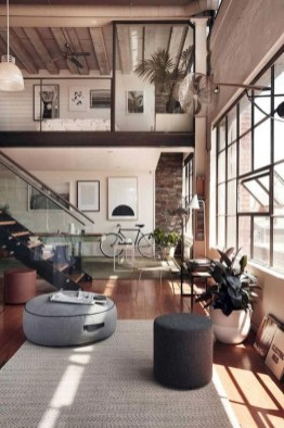 Minimalist Industrial Apartment 40
