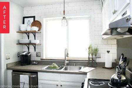 Wonderful Small Kitchen Transformations 46