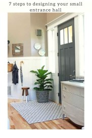 Stylish Small Entrance Ideas 19