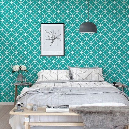 Trendy Wallpaper Designs To Create Different Moods In The House 54