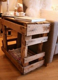 Adorable Crafty Diy Wooden Pallet Project Ideas 11