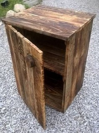 Adorable Crafty Diy Wooden Pallet Project Ideas 25