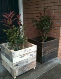 Adorable Crafty Diy Wooden Pallet Project Ideas 48