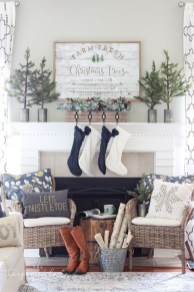 Adorable White Christmas Decoration Ideas 23