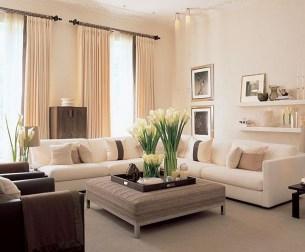 Beautiful Neutral Living Room Ideas 14