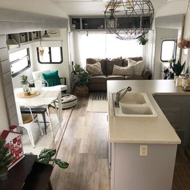 Beautiful Rv Remodel Camper Interior Ideas For Holiday 11