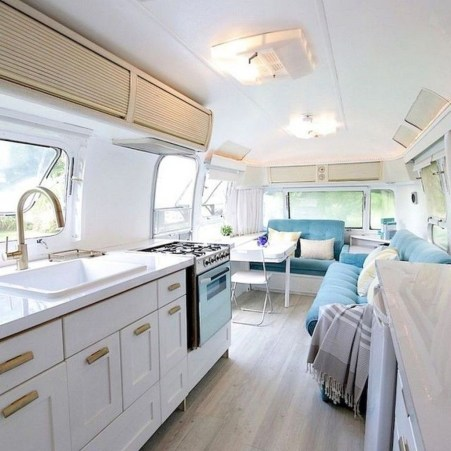 Beautiful Rv Remodel Camper Interior Ideas For Holiday 32