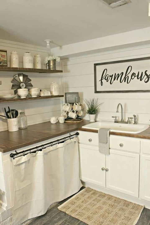 Best Farmhouse Kitchen Sink Ideas 44