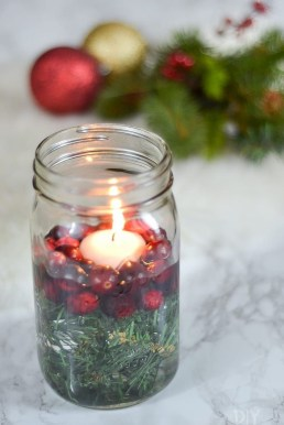 Charming Christmas Candle Decor Ideas 41