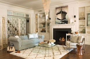 Comfy Winter Living Room Ideas With Fireplace 28