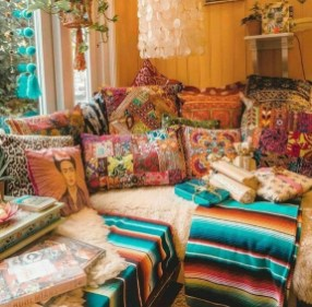 Creative Bohemian Bedroom Decor Ideas 21