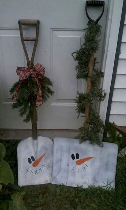Cute Outdoor Christmas Decor Ideas 17