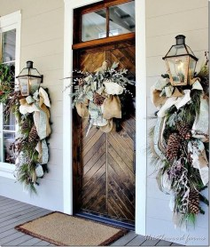 Cute Outdoor Christmas Decor Ideas 21