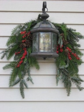 Cute Outdoor Christmas Decor Ideas 33