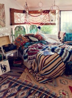Elegant Bohemian Bedroom Decor Ideas 19